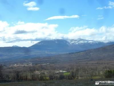 Chorrera o Chorro de San Mamés madrid excursiones senderismo trekking selva de irati rutas por riaz